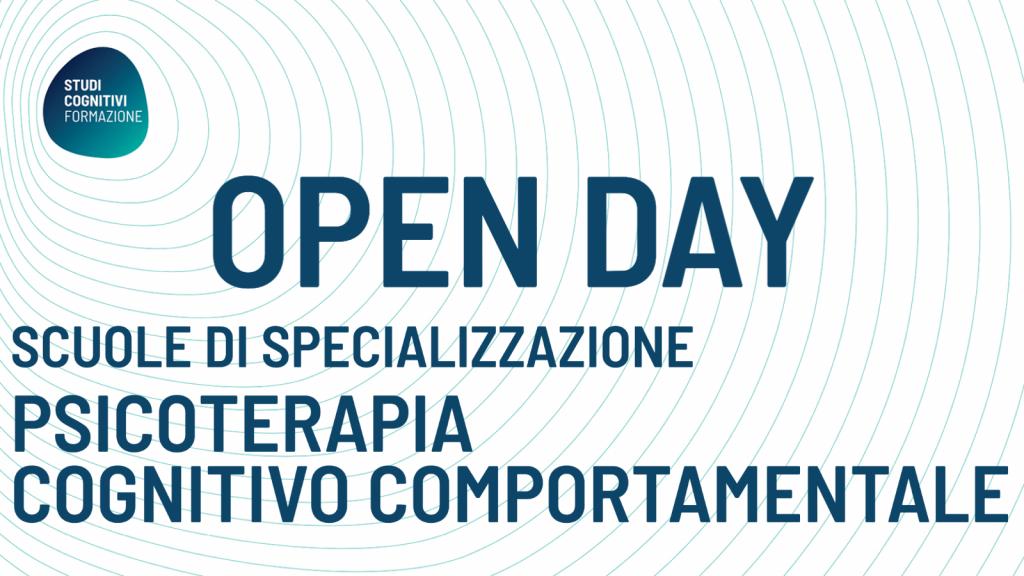 Studi Cognitivi Formazione - Banner OPEN DAY SCUOLE DI PSICOTERAPIA